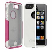 Pink and white Otterbox for iPhone 5,5S