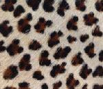 Cow Hide Leopard Fur