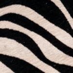 Cow Hide Zebra Fur