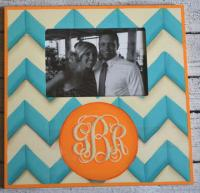 Hand Painted Wooden Frames - Stripes, Geometric, and Chevron Designs