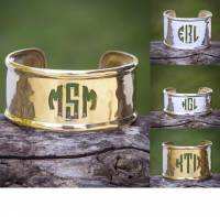 Cut Out Metal Cuff with Rimmed all sizes