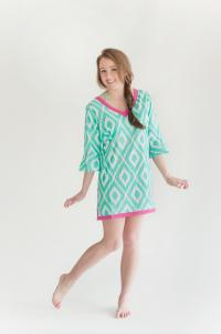 Tunic - Mint Diamond