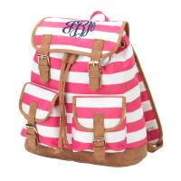 Campus Backpack - Pink Stripe