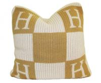 "Monogrammed Pillow 20"" by 20"""