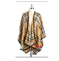 Camel Plaid Burberry Plaid Cape