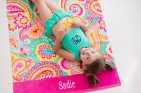 Kids Swimsuit Set - Mint