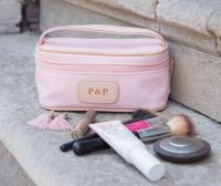 Jon Hart Design Personalized Canvas Mini Makeup Case