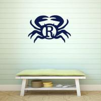 Birchwood Crab Wall Monogram