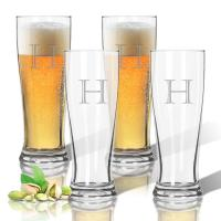 Personalized Tritan Pilsner Glasses