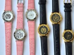 Monogrammed Watches from The Pink Monogram Gallery_521