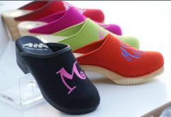Original Monogrammed Clogs and Sandals