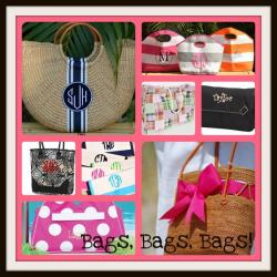 Monogrammed Purses and Handbags from The Pink Monogram Gallery_148