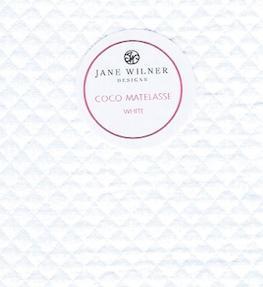Coco Matelasse White