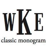Classic Monogram