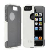 White And Gray  Otterbox For Iphone 5, 5s