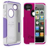 Purple And White Otterbox For Iphone 4/4s