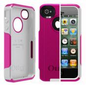 Pink And White Otterbox For Iphone 4/4s