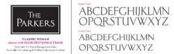 Classic Roman Writing Font