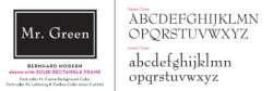 Bernhard Modern Writing Font