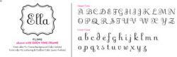 Fling Writing Font