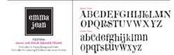 Festiva Writing Font
