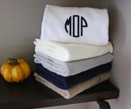 monogram your bath