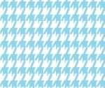 Houndstooth Blue