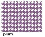Houndstooth Plum