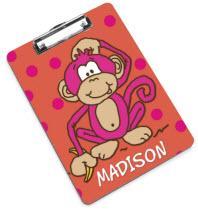 Hot Pink Monkey