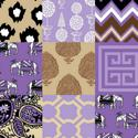 8437 Patchwork Lilac
