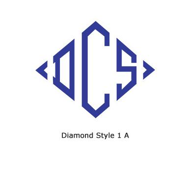 #1 Diamond Chain Stitch