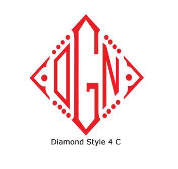 #4 Diamond Chain Stitch