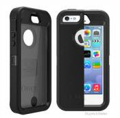 Black Defender Otterbox For Iphone 5/5s