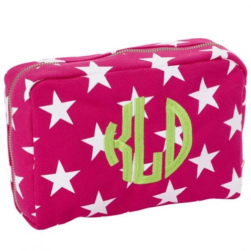 Monogrammed Stargazing Canvas Utility Pouch  Luggage & Bags > Toiletry Bags