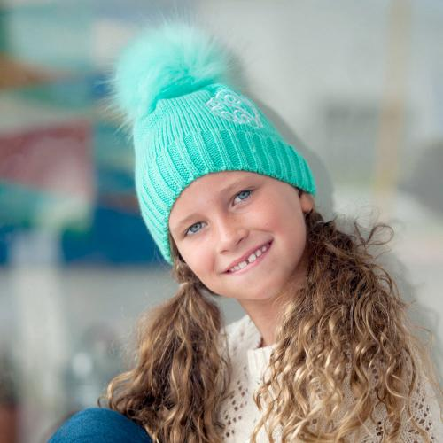 Personalized Mint Green Childs Bella Hat  Apparel & Accessories > Clothing Accessories > Hats