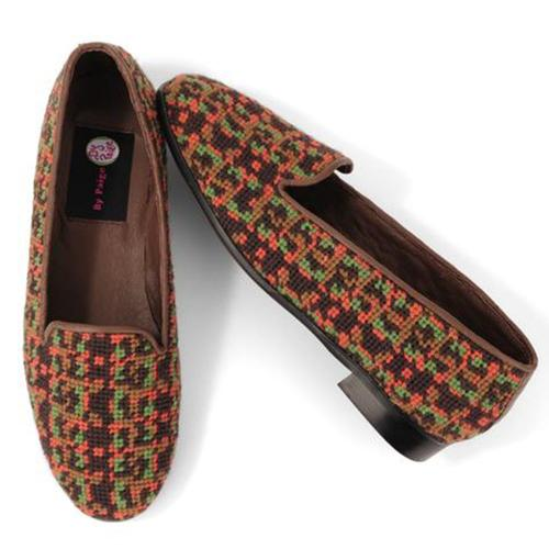 By Paige Ladies Fall Tweed Needlepoint Loafers  Apparel & Accessories > Shoes > Loafers