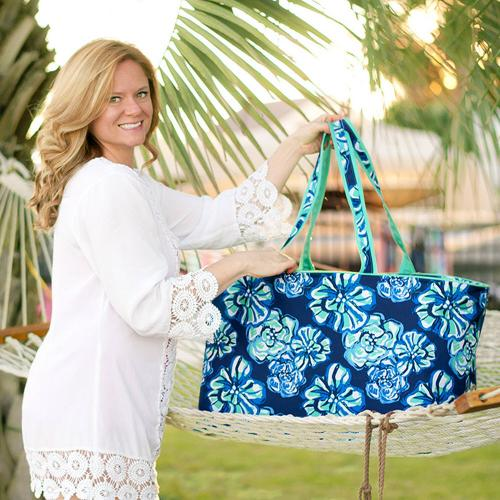 Personalized Maliblue Ultimate Tote  Home & Garden > Household Supplies > Storage & Organization > Utility Baskets