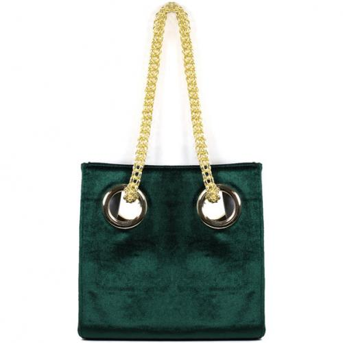Lisi Lerch Scarlett Hunter Green Shoulder Bag Lisi Lerch Scarlett Hunter Green Shoulder Bag Apparel & Accessories > Handbags > Clutches & Special Occasion Bags