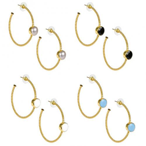 Lisi Lerch Kira Hoop Earrings  Apparel & Accessories > Jewelry > Earrings