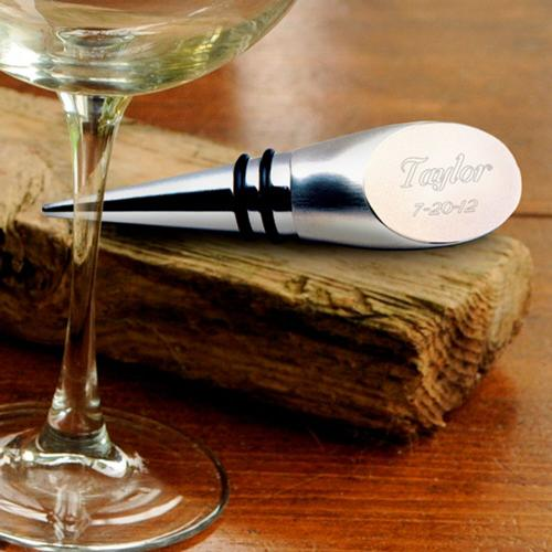 Personalized Wine Bottle Stopper  Engraved Wine Bottle Stopper Home & Garden > Kitchen & Dining > Barware > Bottle Stoppers & Savers
