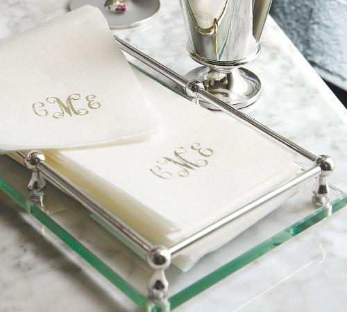 Personalized Disposable Hand Towels Set of 25  Home & Garden > Linens & Bedding > Towels > Kitchen Towels