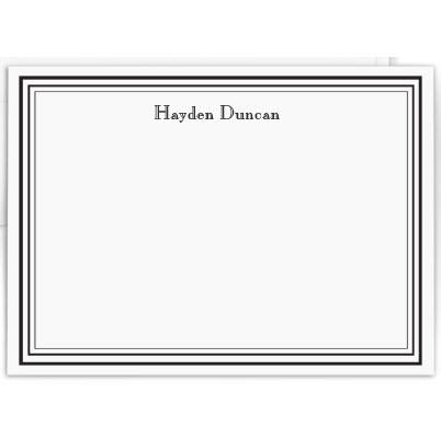 Personalized Colonial Raised Ink Card  Office Supplies > General Supplies > Paper Products > Stationery
