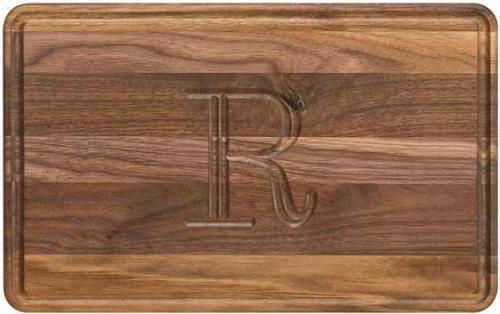 "Personalized Cutting Board 10x16"" Made of Walnut Wood   Home & Garden > Kitchen & Dining > Kitchen Tools & Utensils > Cutting Boards"