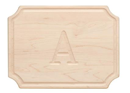 "Personalized Cutting Board 9x12"" Scalloped Maple Wood   Home & Garden > Kitchen & Dining > Kitchen Tools & Utensils > Cutting Boards"
