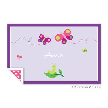 Boatman Geller Personalized Butterfly Laminated Placemat  Home & Garden > Linens & Bedding > Table Linens > Placemats