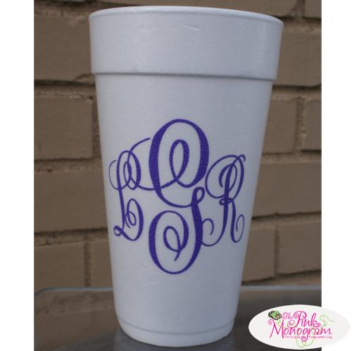 Personalized 24oz Foam Cups  Home & Garden > Kitchen & Dining > Tableware > Drinkware