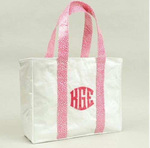 Monogrammed Talley Ho Designs Ziptop Shoulder Bag  Apparel & Accessories > Handbags > Tote Handbags