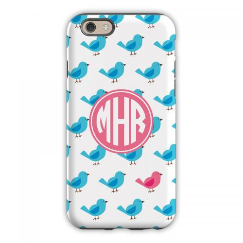 Personalized iPhone Case Birdies Repeat   Electronics > Communications > Telephony > Mobile Phone Accessories > Mobile Phone Cases