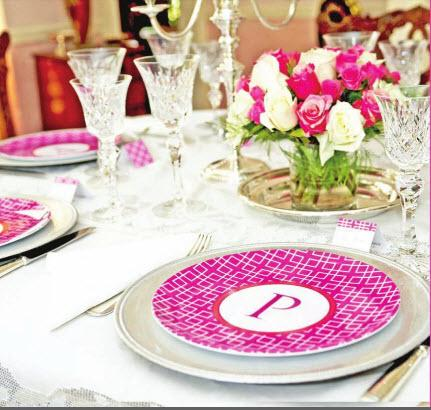 Preppy Plates - Monogrammed Melamine Plates So many choices and for every occasion . Take a look at our preppy tables! Gallery_75