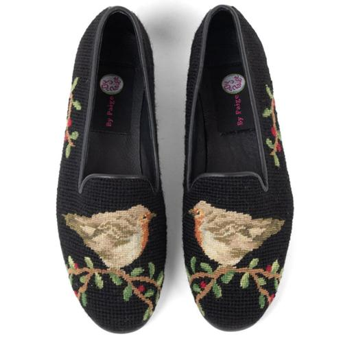 By Paige Needlepoint Shoes Sale